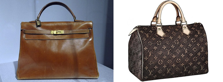 Первые сумки Hermès и Louis Vuitton