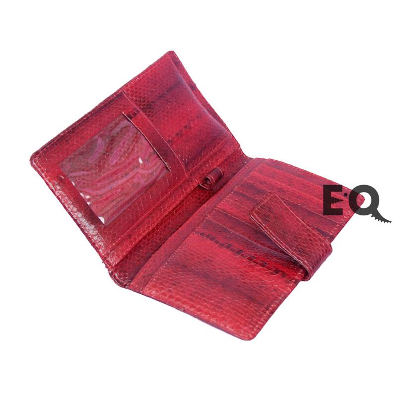 Бумажник красная кобра