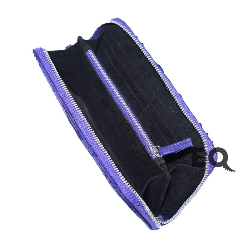 Синий кошелек из питона