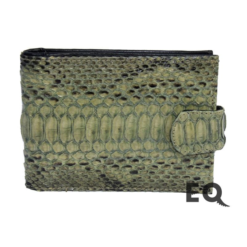 Зеленый кошелек из питона
