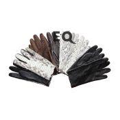 Перчатки из кожи питона