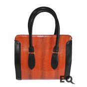 Красная сумка из кобры